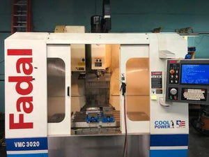 2006 Fadal VMC 3020HT - 10K RPM Spindle - High Torque - Swing Arm Tool Changer