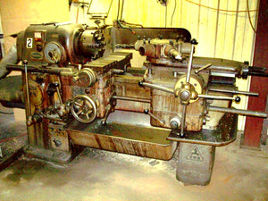 "1965 Sigma R5 Turret Lathe With Tooling & 10"" Buck Chuck"