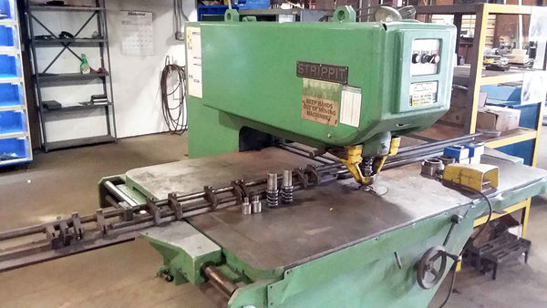 "Strippit Super 30/30/60 Punch with Tooling- 30 Ton, 30"" Throat, 3.5"" Hole"