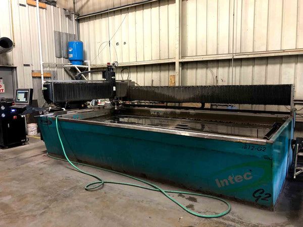 2012 Techni I 612-G2 6'x12' Waterjet