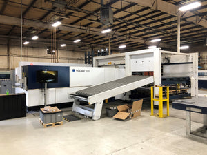 2015 Trumpf TruLaser 5030 8k Fiber Laser - With Liftmaster and Partsmaster