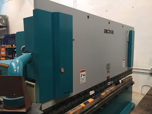 2003 Adira 165 Ton x 13' Hydraulic Press Brake w/ Cybelec DNC 60 CNC Control 2-axis and Adjustable Punch Holders