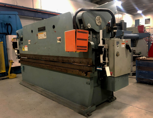"1988 Accurpress 175 Ton x 12' Press Brake w/ ""Tandem Style"" Dyna Bend 3 CNC Programmable Backgauge"