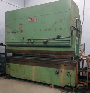 160 Ton x 12' Allsteel Hydraulic Press Brake, 1981