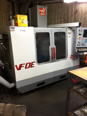 2000 Haas VF-0E - 4th Axis Ready, New Spindle '14, Upgraded Control