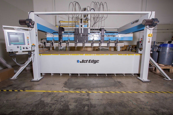 Jet Edge 4x10 HR Waterjet, 2014 - 150 HP Pump