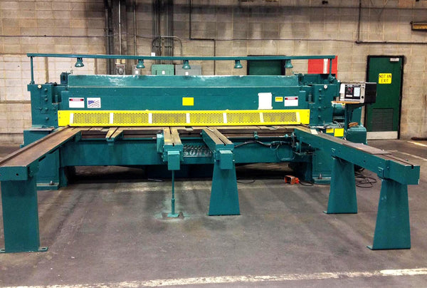 "Wysong ½"" x 12' CNC Mechanical Squaring Shear, Model 1250 - Rebuilt to New"