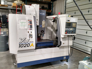 YCM XV1020A VMC, 2007 - 10K RPM Spindle