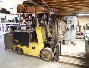 "Yale Electric Forklift- 6000 LB x 130"" Lift"