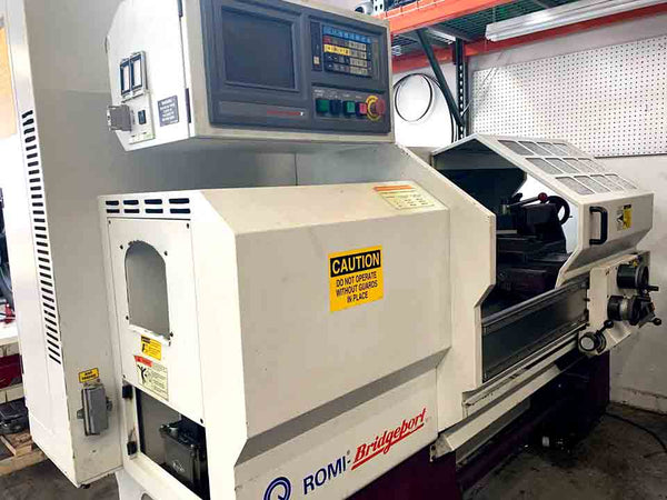 1999 Bridgeport-Romi Ez-Path SD CNC Lathe, Super Clean, Tooling included, Video Available