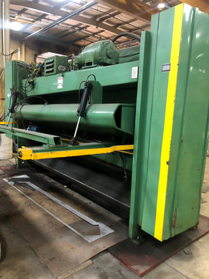 "1997 Cincinnati 3/4"" x 12ft Hydraulic Shear- Under Power! Video Available!"