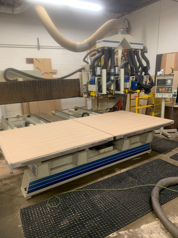 Komo 5' x 10' VR1005-TT CNC Router, 1993 - Multiple Spindles