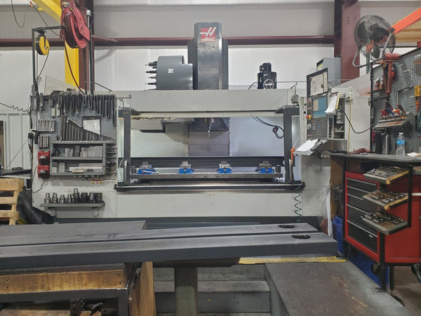 Haas VF-9 VMC, 2011 -1000 Psi TSC, WIPS, Wired 4th Axis