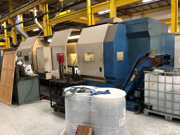 Mazak Integrex 70 INTE70Y-3000U CNC Multi Axis Lathe, 1995 - Mazatrol T Plus, Hyd Steady