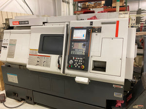 Mazak QTN-200MS, 2005 - Live Tool, Sub Spindle, Bar Feeder