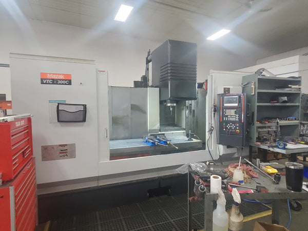 Mazak VTC 300C Vertical Machining Center, 2008 - Renishaw Probe