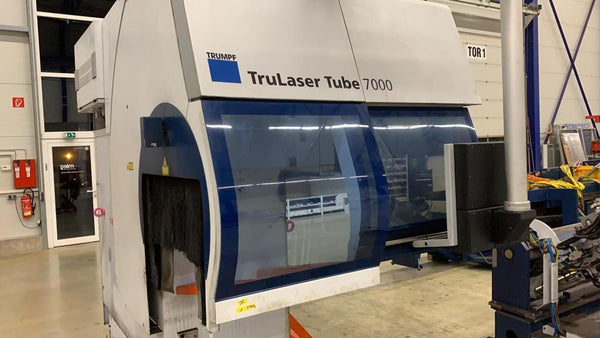 2700 Watt Trumpf Trulaser CO2 Tube 7000 Tube Laser, 2013- Refurbished, Warranty Included