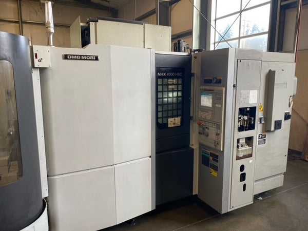 DMG Mori NHX 4000 Horizontal Machining Center, 2014 - 5 Pallet System