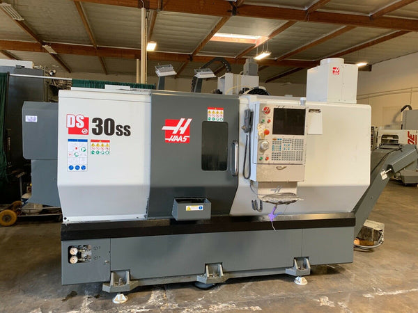 "2016 Haas DS-30SS - Dual Spindle - 10"" Main Chuck - 8"" Sub - 3"" Bore"