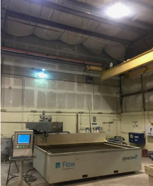 Flow Mach 2 2031b Waterjet, 7' x 11' Table, 2014, Very Low Hours (2000), Videos Available