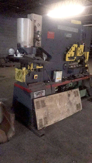 Geka Hydracrop 100 SD Iron worker, Dies and Punches included  Under power, Video Available