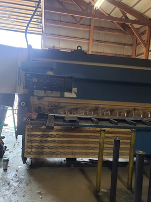 "5/8"" x 10' Haco Atlantic HDS Guillotine Shear, 1999"