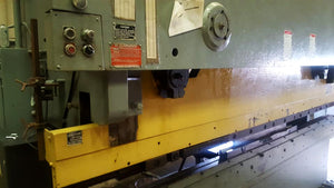HTC 150 Ton x 12' CNC Press Brake, Hurco Autobend 6 Back gauge