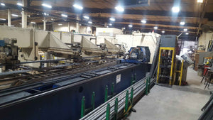 "2700 Watt Trumpf Tubematic 5000 CO2 Tube Laser, 2004- 6"" Chuck - Decomm/Recomm/Loading Included!!"