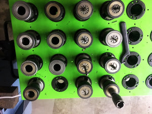 1997 Southwestern Industries TRAK A.G.E 3 DPM - TG 10 Tool Holders and Collets Included