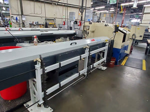 Tsugami MU-26SY CNC Precision Automatic Lathe, 2003 - Barfeeder, Under Power, Tooling Included