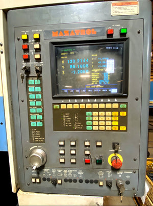1998 Mazak Super Turbo - X510 Stx Hi-Pro Laser, Under Power, Video Available
