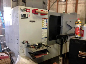 2009 Haas Super Mini Mill 2, Loaded With Options, TSC, 15k RPM, Probe, Tons of Tooling Included