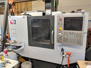 Haas Mini Mill 2 VMC, 2012 - Wired 4th Axis, Low Hours