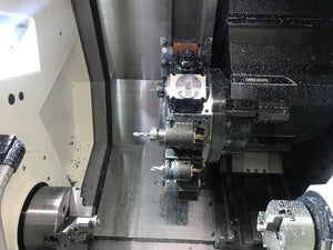 DMG Mori NLX2000SY/500, 2017 - Sub Spindle, Y-Axis, Tailstock