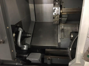 Haas ST-10 CNC Lathe, 2012 - Used 3 Times, Pristine Condition, Tailstock, 3 Jaw and Collet Chuck, Under Power