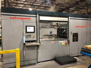 SALVAGNINI P2-777 PANEL BENDER - MUST MOVE!!