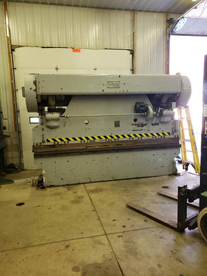100 Ton x 12' Warco Press Brake, 1980