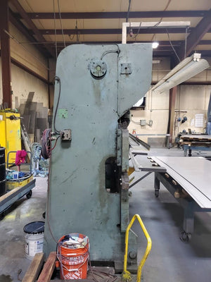 55 Ton x 10' Chicago Dreis & Krump Mechanical Press Brake