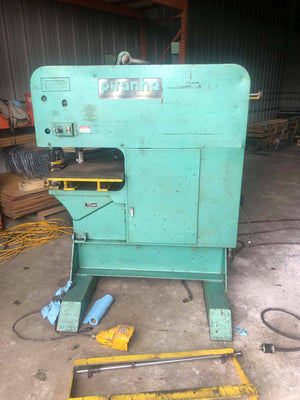 120 Ton Piranha Sep-120 Punch, 2009- Tooling Included, Video Available