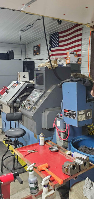 Mazak QT-N-20 CNC Lathe, 1998, Under-power, Videos Available