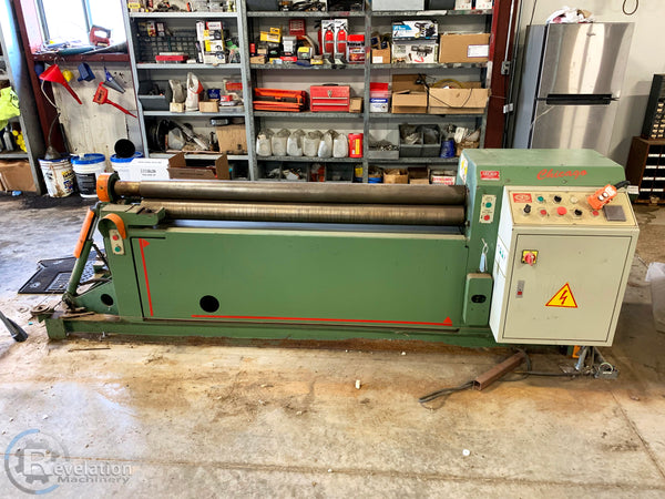 Chicago IPR-5090 Initial Pinch Hydraulic Plate Roll, Under Power Video Available