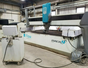 2012 Flow Mach 4/ 4020C 5 axis Waterjet