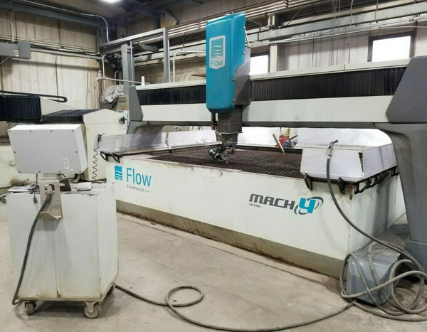 2012 Flow Mach 4/ 4020C 5 axis Waterjet REDUCED