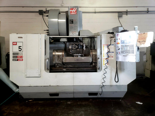 2007 Haas VF-5XT 5 Axis VMC - 40 Tool SMTC - Haas 310 Trunnion