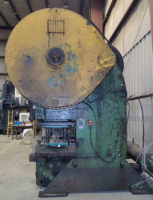 Verson 180 Ton Gap Frame Press- Model 9-F