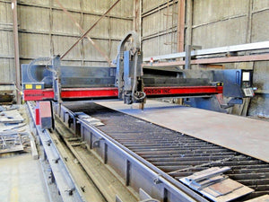 2007 Koike Aronson 3-Axis Plasma/Oxy-Fuel Gantry Plate Cutting Machine