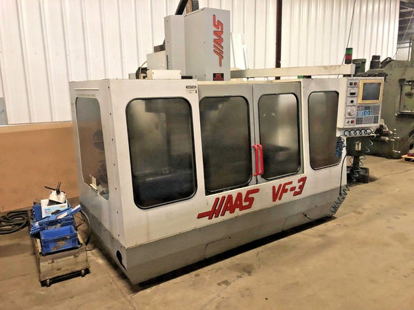 Haas VF-3 CNC Vertical Machining Center, Year 1995 (For Parts)