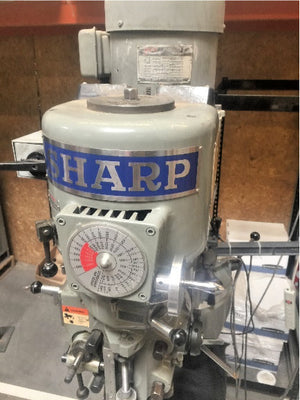 2003 Sharp Vertical Knee Milling Machine