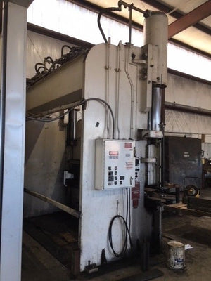 "Pacific 300 Ton x 12ft Press Brake, 36"" Stroke"