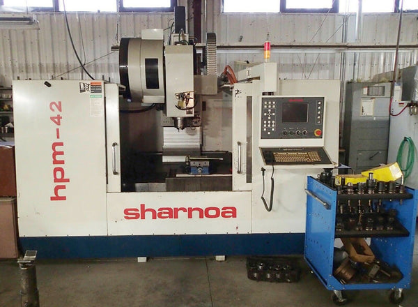 Sharnoa HPM-42 Vertical Mill-  4+ Axis